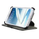 Чехол Kuboq J/Book Case для Samsung Galaxy Note 2 N7100 (черный, кожанный)