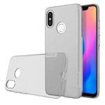 Чехол Nillkin Nature case для Xiaomi Mi 8 (серый, гелевый)