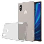 Чехол Nillkin Nature case для Xiaomi Mi 8 SE (серый, гелевый)