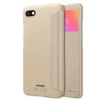 Чехол Nillkin Sparkle Leather Case для Xiaomi Redmi 6A (золотистый, винилискожа)