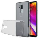 Чехол Nillkin Nature case для LG G7 ThinQ (серый, гелевый)