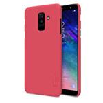 Чехол Nillkin Hard case для Samsung Galaxy A6 plus 2018 (красный, пластиковый)