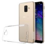 Чехол Nillkin Nature case для Samsung Galaxy A6 2018 (прозрачный, гелевый)