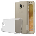 Чехол Nillkin Nature case для Samsung Galaxy J4 (серый, гелевый)