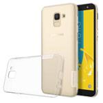 Чехол Nillkin Nature case для Samsung Galaxy J6 (прозрачный, гелевый)
