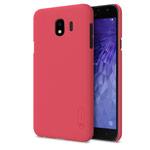 Чехол Nillkin Hard case для Samsung Galaxy J4 (красный, пластиковый)