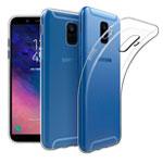 Чехол Yotrix UltrathinCase для Samsung Galaxy A6 2018 (прозрачный, гелевый)
