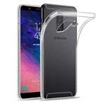 Чехол Yotrix UltrathinCase для Samsung Galaxy A6 plus 2018 (прозрачный, гелевый)
