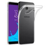 Чехол Yotrix UltrathinCase для Samsung Galaxy J6 (прозрачный, гелевый)