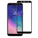 Защитное стекло Yotrix 3D Glass Protector для Samsung Galaxy A6 plus 2018 (черное)