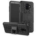 Чехол Yotrix Shockproof case для Samsung Galaxy A6 2018 (черный, пластиковый)
