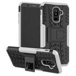 Чехол Yotrix Shockproof case для Samsung Galaxy A6 plus 2018 (белый, пластиковый)