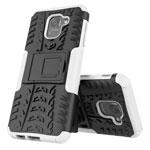 Чехол Yotrix Shockproof case для Samsung Galaxy J6 (белый, пластиковый)