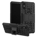 Чехол Yotrix Shockproof case для Xiaomi Mi A2 (черный, пластиковый)
