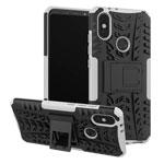 Чехол Yotrix Shockproof case для Xiaomi Mi A2 (белый, пластиковый)