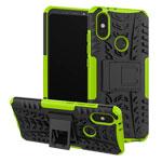Чехол Yotrix Shockproof case для Xiaomi Mi A2 (зеленый, пластиковый)
