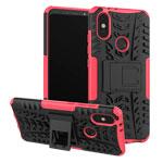 Чехол Yotrix Shockproof case для Xiaomi Mi A2 (розовый, пластиковый)
