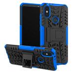 Чехол Yotrix Shockproof case для Xiaomi Mi A2 (синий, пластиковый)
