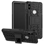 Чехол Yotrix Shockproof case для Xiaomi Redmi S2 (черный, пластиковый)