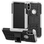 Чехол Yotrix Shockproof case для Xiaomi Redmi S2 (белый, пластиковый)