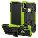 Чехол Yotrix Shockproof case для Xiaomi Redmi S2 (зеленый, пластиковый)