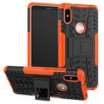 Чехол Yotrix Shockproof case для Xiaomi Redmi S2 (оранжевый, пластиковый)