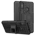 Чехол Yotrix Shockproof case для Xiaomi Mi 8 (черный, пластиковый)