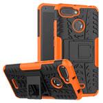 Чехол Yotrix Shockproof case для Xiaomi Redmi 6 (оранжевый, пластиковый)