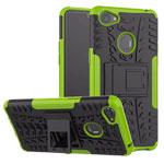 Чехол Yotrix Shockproof case для OPPO F7 (зеленый, пластиковый)