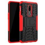 Чехол Yotrix Shockproof case для OnePlus 6 (красный, пластиковый)