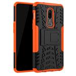 Чехол Yotrix Shockproof case для OnePlus 6 (оранжевый, пластиковый)