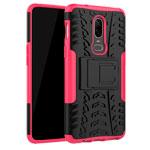 Чехол Yotrix Shockproof case для OnePlus 6 (розовый, пластиковый)