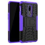 Чехол Yotrix Shockproof case для OnePlus 6 (фиолетовый, пластиковый)