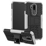 Чехол Yotrix Shockproof case для LG G7 ThinQ (белый, пластиковый)