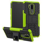 Чехол Yotrix Shockproof case для LG G7 ThinQ (зеленый, пластиковый)