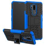 Чехол Yotrix Shockproof case для LG G7 ThinQ (синий, пластиковый)