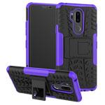 Чехол Yotrix Shockproof case для LG G7 ThinQ (фиолетовый, пластиковый)