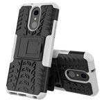 Чехол Yotrix Shockproof case для LG Q7 (белый, пластиковый)