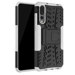Чехол Yotrix Shockproof case для Huawei P20 pro (белый, пластиковый)