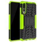 Чехол Yotrix Shockproof case для Huawei P20 pro (зеленый, пластиковый)