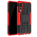 Чехол Yotrix Shockproof case для Huawei P20 pro (красный, пластиковый)