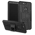 Чехол Yotrix Shockproof case для Huawei P smart (черный, пластиковый)