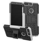 Чехол Yotrix Shockproof case для Huawei P smart (белый, пластиковый)