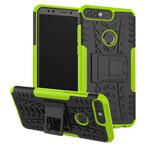 Чехол Yotrix Shockproof case для Huawei P smart (зеленый, пластиковый)