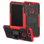 Чехол Yotrix Shockproof case для Huawei P smart (красный, пластиковый)
