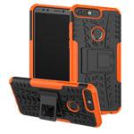 Чехол Yotrix Shockproof case для Huawei P smart (оранжевый, пластиковый)