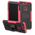 Чехол Yotrix Shockproof case для Huawei P smart (розовый, пластиковый)