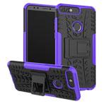 Чехол Yotrix Shockproof case для Huawei P smart (фиолетовый, пластиковый)