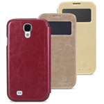 Чехол Nillkin Easy Series Leather case для Samsung Galaxy S4 i9500 (бежевый, кожанный)
