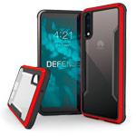 Чехол X-doria Defense Shield для Huawei P20 (красный, маталлический)
